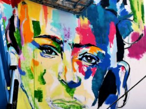Doger Nuevo Graffiti en el Palo