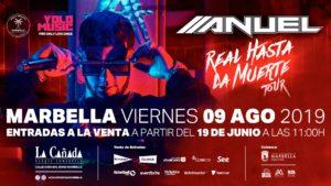 Anuel AA en El Ciclo Musical Marbella