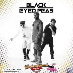 BLACK EYED PEAS, estrellas internacionales en el WBFT19