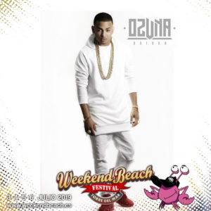 Weekend Beach Festival anuncia como headliner a OZUNA