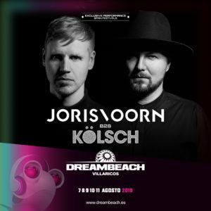 Dreambeach incorpora a dos exclusivos dúos de DJs: Tchami con Malaa, y Joris Voorn con Kölsch