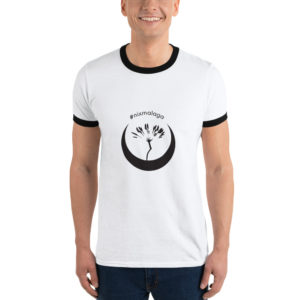 Camiseta tipo ringer de #nixmalaga