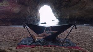 Como llegar nadando a la cueva de #benagil