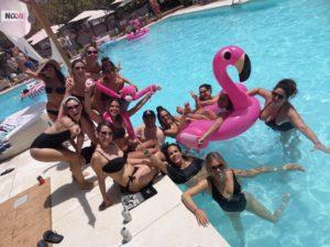 La fiesta en la piscina más loca de la Costa del Sol by @PinkMonkeysEvents