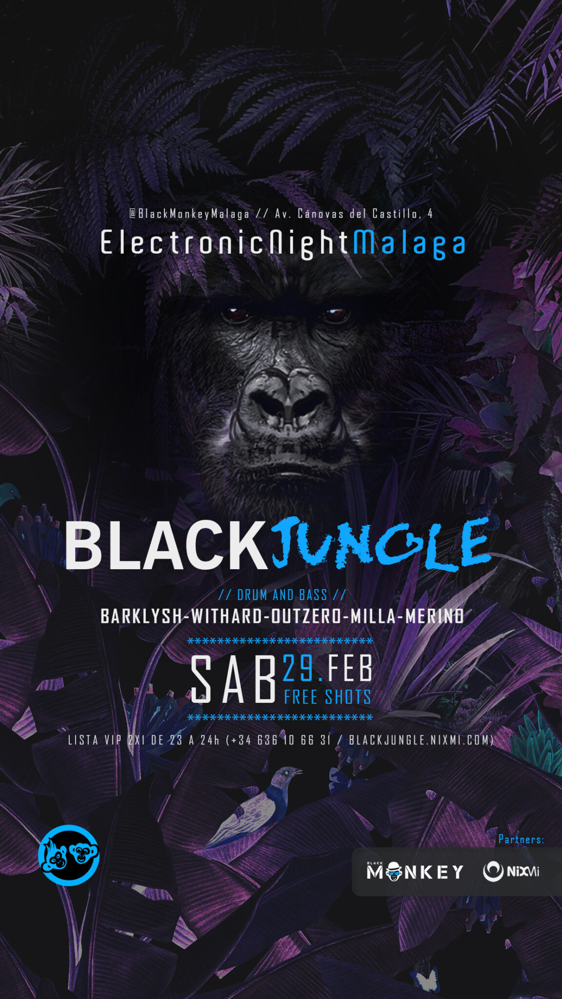 2020 – 02 – 29 – BlackJungle