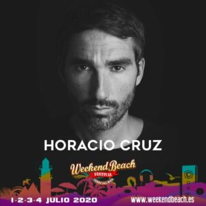 Horacio Cruz en el #WeekendBeach2020