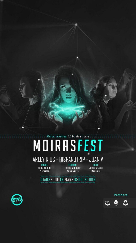 Lee más sobre el artículo MoirasFest D03 // #nixstreaming #festival JUE.19.MAR