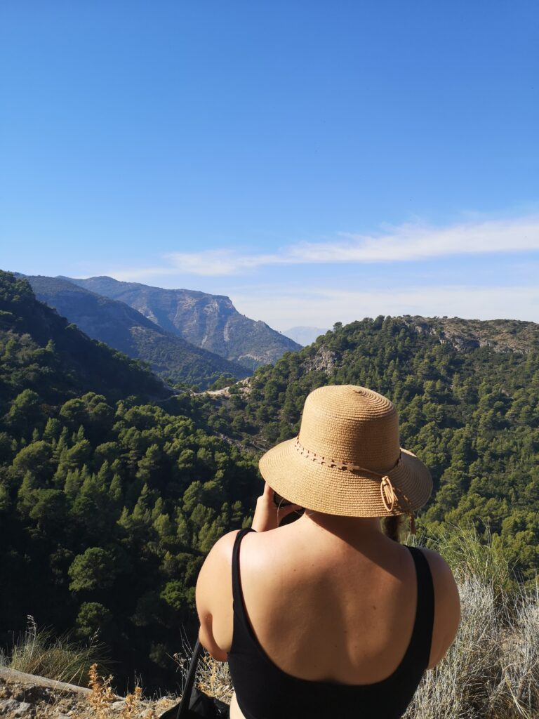 Sendero de los Presidiarios cerca a Malaga