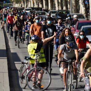 Bicifestación: Málaga, enamórate de un CarrilBici 14 de febrero