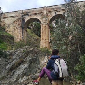 Senderismo por el Acueducto de Santelmo en los montes de Malaga