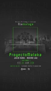 Lee más sobre el artículo ProyectoMalaka en Fly Blue el Viernes 2 de Abril