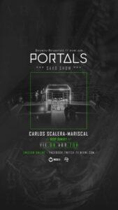 Portals en Fly Blue el Viernes 9 de Abril