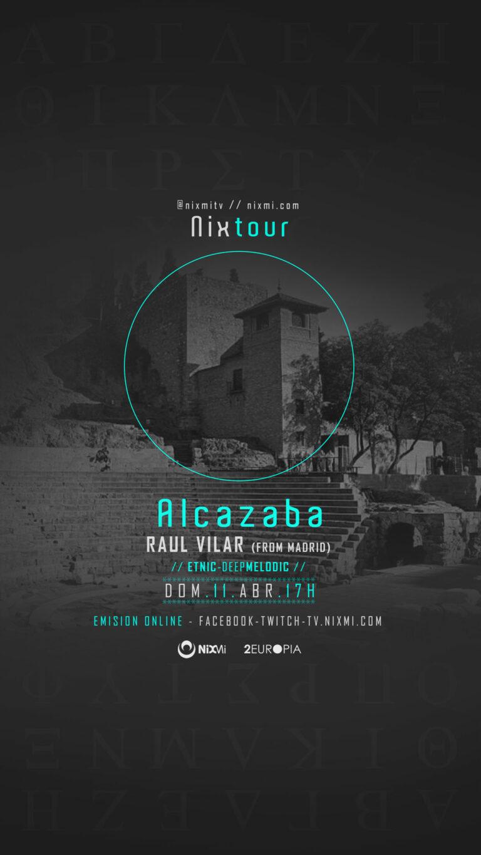 Paseo GRATUITO a la Alcazaba con musica ambiente
