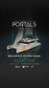 Lee más sobre el artículo Portals en Mundo Marino el Viernes 14 de Mayo