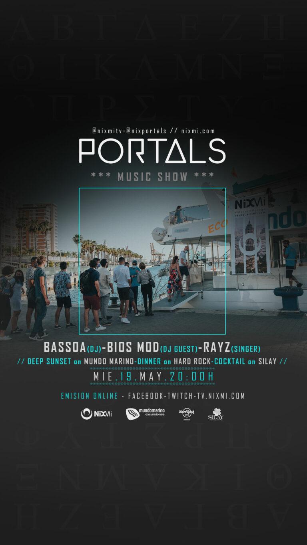 Lee más sobre el artículo Portals en Mundo Marino el Miercoles 19 de Mayo