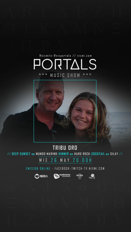 Lee más sobre el artículo Portals en Mundo Marino el Miercoles 26 de Mayo