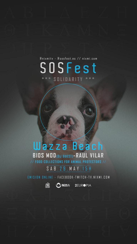 Lee más sobre el artículo SOSFest Recogida de alimentos en Wazza Beach Mijas Sabado 29