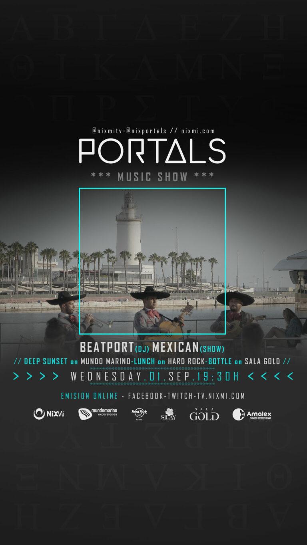 Lee más sobre el artículo Show PORTALS en Mundo Marino el Miercoles 01.09.2021