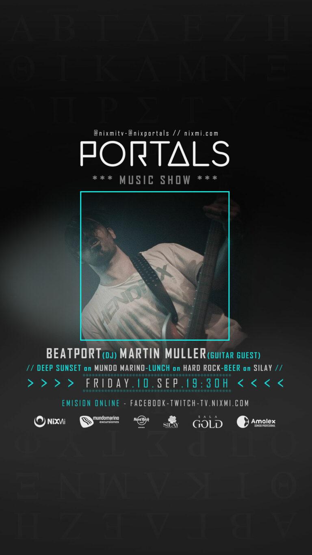 Lee más sobre el artículo Show PORTALS en Mundo Marino el Viernes 10.09.2021