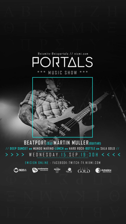 Lee más sobre el artículo Show PORTALS en Mundo Marino el Miercoles 15.09.2021