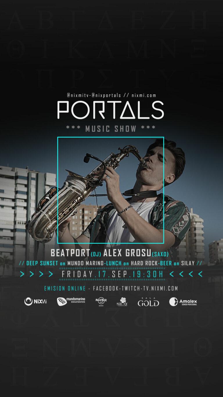 Lee más sobre el artículo Show PORTALS en Mundo Marino el Viernes 17.09.2021